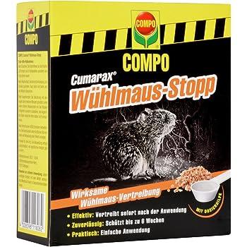 200 g Anwendungsfertiges Vertreibungs- und Fernhaltemittel gegen W/ühlm/äuse Granulat COMPO Curamax W/ühlmaus-Stopp