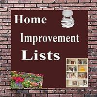 Home Improvement Lists