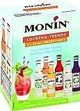 Monin Sirup 6er Mini für Cocktails, Milkshakes, Desserts... - 0,3 Liter