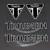 Etiqueta engomada Motocicleta para Triumph Casco Motocicleta Etiqueta Etiqueta Etiqueta Etiqueta Etiqueta Reflectante Etiquet