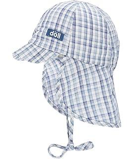 D/öll Baby Boys Bindem/ütze Mit Schirm Und Nackenschutz Sun Hat
