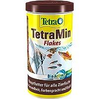 Tetra Min Fischfutter in Flockenform - ausgewogene Mischung für gesunde Fische und klares Wasser