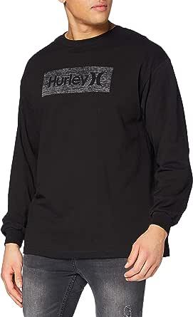 Hurley Men's M Boxed Texture L/S T-Shirt