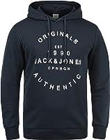 JACK & JONES Originals Tim Hood Herren Hoodie Kapuzenpullover Pullover Mit Kapuze Und Print