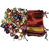 KRIWIN Small/Mini Christmas Tree Decorations Ornaments Set (80)