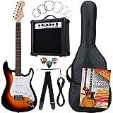 Rocktile Banger's Pack E-Guitar Set Sunburst 8 Pieces