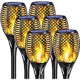 KINGLEAD Lampe Solaire Lampes Solaires Torche de Jardin Extérieur Flamme Lumière IP65 étanche Jardin Lumières éclairage LED S