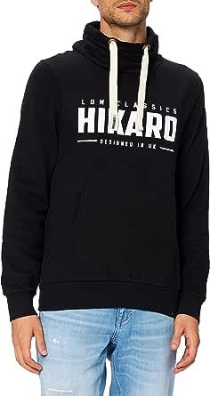 Hikaro Men's Funnel Neck Logo Sweatshirt