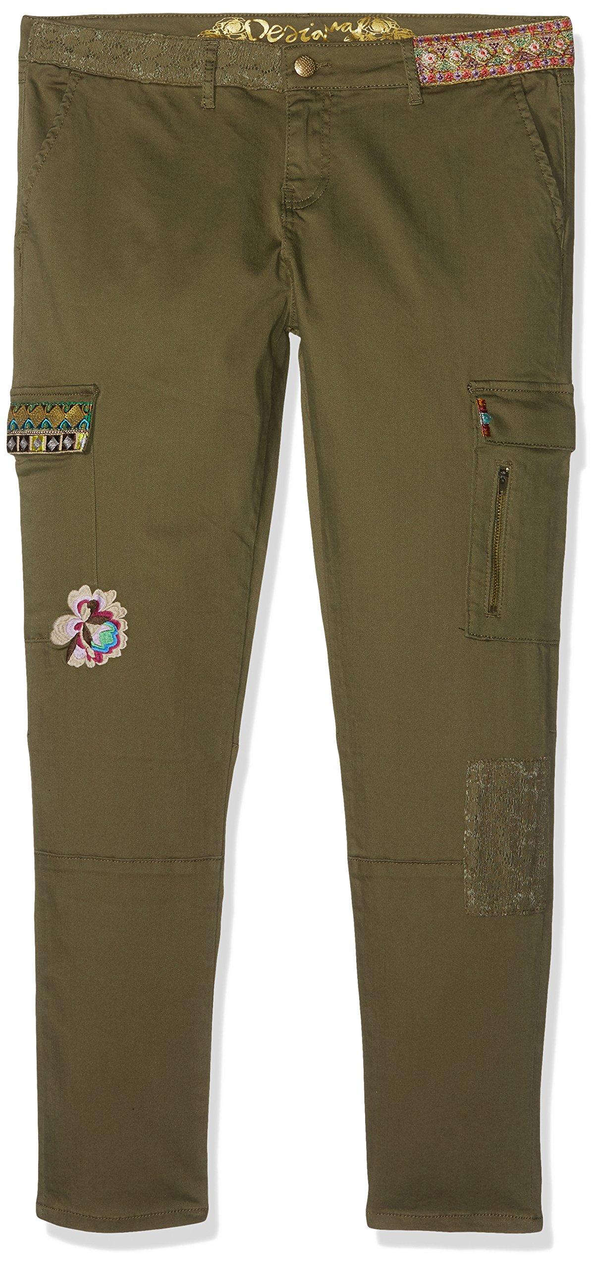 Desigual Pant_luz Pantalones para Mujer