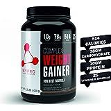 Mypro Sport Nutrition Complex Weight Gainer Advanced Belgium Chocolate Flavor High Protein Supplement Powder for Gym Workout