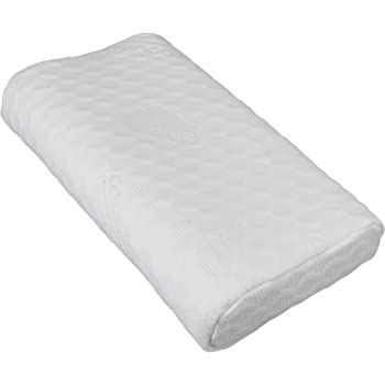 Snug Contour Memory Foam Pillow with COOLMAX Purotex zipped washable cover