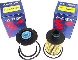 ALTECH Hi-Performance Oil Filter + Diesel Filter Set For Chevrolet Beat Diesel
