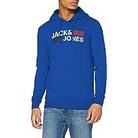 Jack & Jones Men's Jjecorp Logo Sweat Hood Noos Sweatshirt