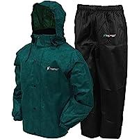 FROGG TOGGS Men's All Sport Rain Suit Rainwear (pack of 2)