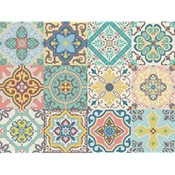 Amazonde Vinyl Aufkleber Selbstklebend Portugiesisch Aufkleber - Tapete portugiesische fliesen