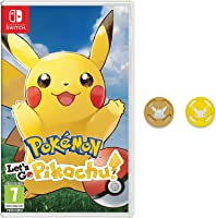 Pokémon: Let's Go, Pikachu! + Grips para Joy-Con