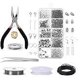 Jewelry Making Kit, Comius Sharp Joyería Herramientas de Reparación de Joyas para Hacer y Reparar Collares y Pulseras y Pendi