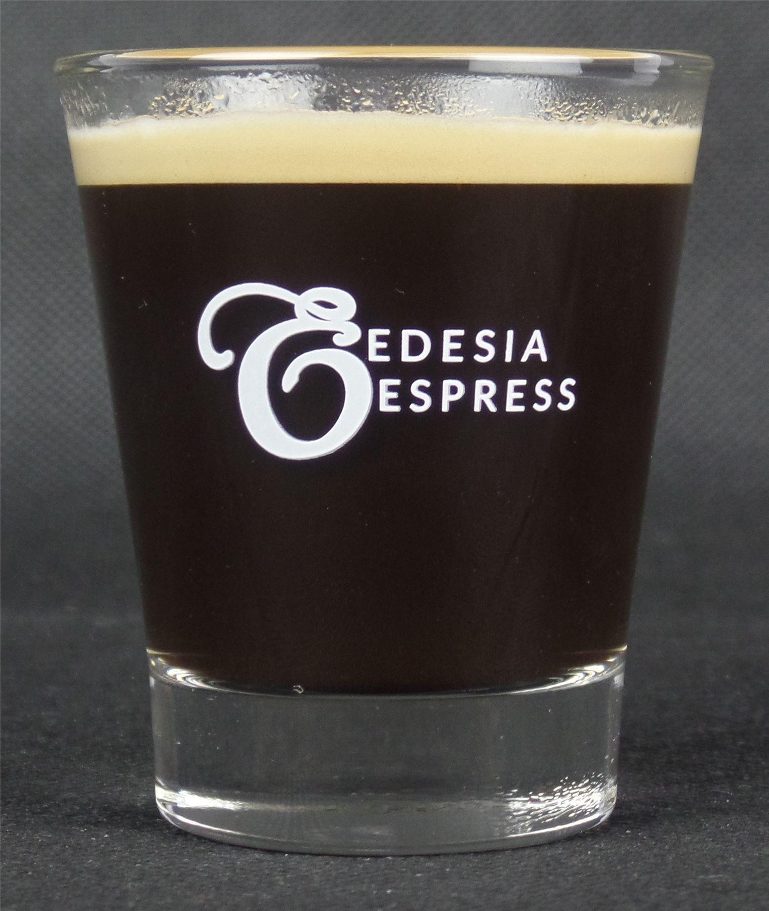 81qZMwpjVML - White Lined Espresso Shot Glass Measure for Coffee Espresso Machines - 85ml - by EDESIA ESPRESS