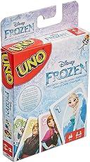 Games Uno Disney Frozen, Multi Color