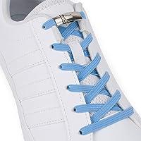 Sulpo, lacci in gomma elastica con chiusura magnetica in metallo, senza bisogno di legarli né di fare il fiocco, adatti…