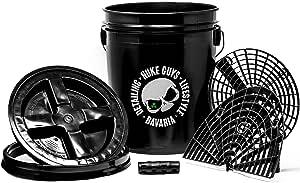 Nuke Guys Auto Wasch Eimer Set Nuke Bucket 5 Us Gallonen Ca 19 Liter Nuke Grit Made By Gritguard Usa Nuke Eimerdeckel Made By Gamma Seal Lid Usa Nuke Board Washboard Made By Gritguard Nuke Grip Auto