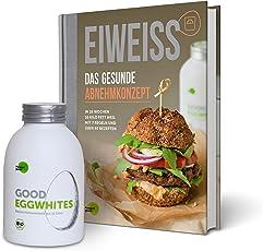 Eiweiß-Paket Gesundes Abnehmen: 1 Flasche Good Eggwhites (Bio-Eiklar) & das Abnehm-Buch v. Pumperlgsund