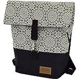 C-BAGS Sweet Jeans Fahrradtasche Damen Rucksack Spitzenmuster Backpack Verschiedene Muster