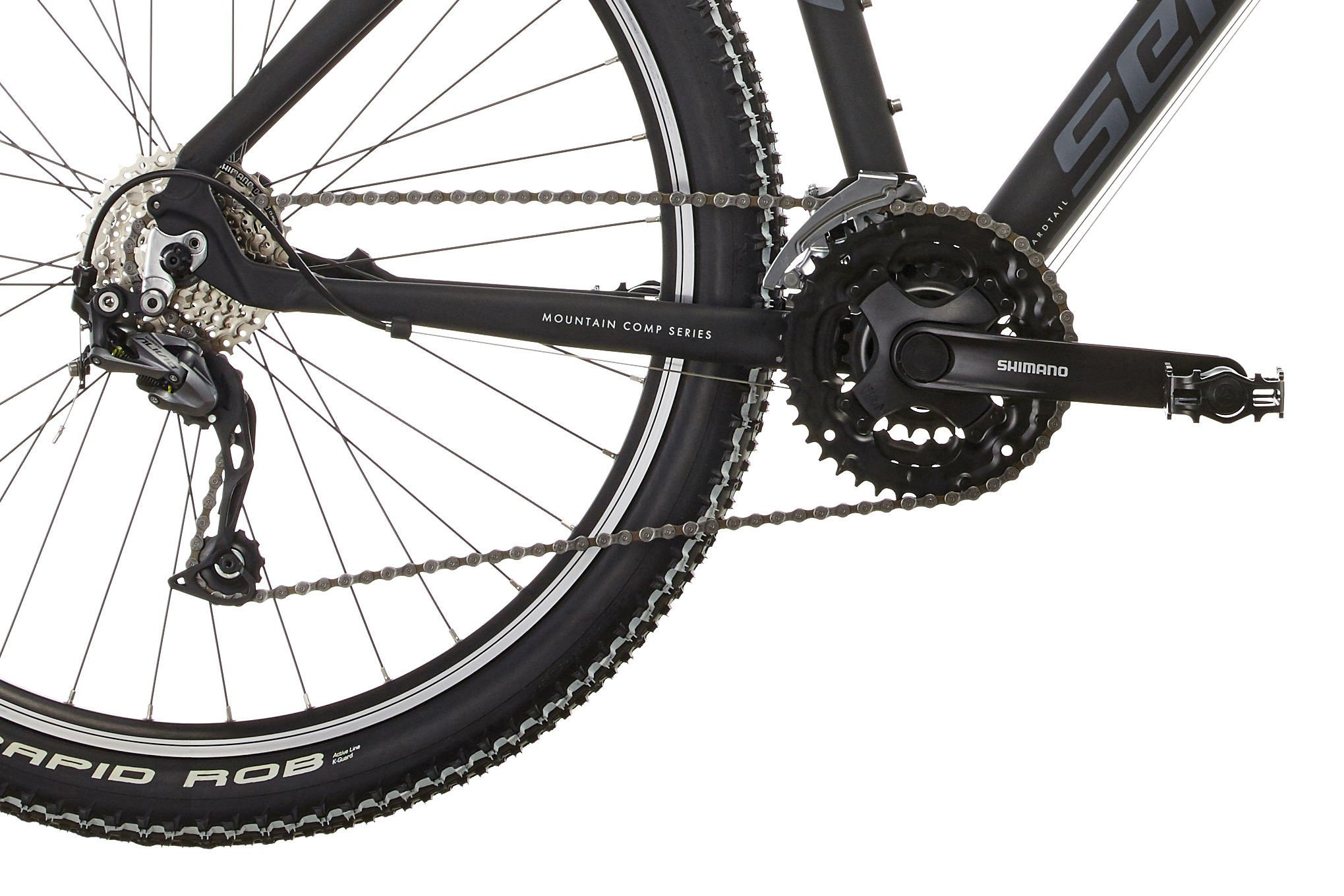 "81qbDuwq0ZL - SERIOUS Ridge Trail 27,5"" mat black 2017 MTB Hardtail"