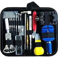 Kit de réparation de Montre, Ensemble d'outils de Barre de Ressort Professionnel Ensemble avec étui de Transport…