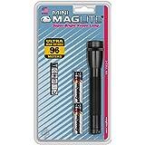 Maglite M2A016 Mini Mag AA mobiele zaklamp in blisterverpakking - zwart