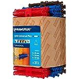 Rawlplug - 68 635 Uno Plugs gemengde handelverpakking 272 - RAW68635