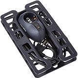 Bticino - BTRE Safe - verlengkabel met stekker 10 A, 2 bypass-stopcontacten 10/16 A, 1 stopcontact P30, automatische veilighe