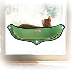 K & H Manufacturing EZ Katzenbett mit Fensterhalterung fürs Fensterbrett (68,6x 27,9cm)
