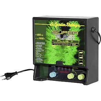 Creb SUPFLASH Electrificateur Plastique Vert/Noir 24,5 x 23 cm