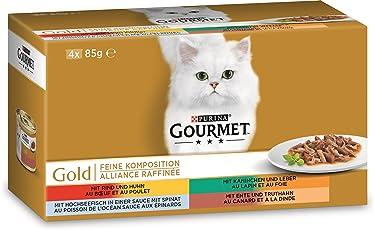 Gourmet Gold Katzenfutter Feine Komposition