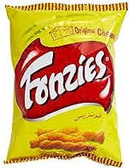 Fonzies cheese flavoured corn snacks (10 x 70gm)
