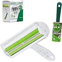 Eco Today Spazzola Togli Peli Animali Riutilizzabile + Gratis Levapelucchi Spazzola Adesiva Remake 95% plastica…