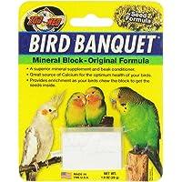 Zoo Med Bloc de Minéraux Banquet pour Oiseau Taille S 28 g