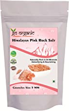 Go Organic Himalayan pink salt for mineral bath 350 gmc (pack of 2)