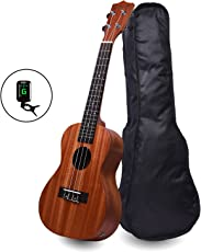 Kadence Concert Sized Ukulele 24inch (Built in Equalizer) Combo with tuner