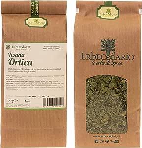 Tisana Ortica Erbecedario, Depurativa, Diuretica, Remineralizzante, Drenaggio E Depurazione Corpo, 1 Sacchetto 100g
