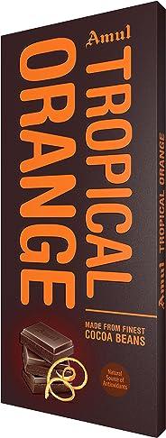 Amul Tropical Orange Chocolate, 150g