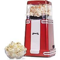 Gadgy ® Hot Air Popcorn Maker l Low-Calorie & Fat-Free l Retro Popcorn Machine