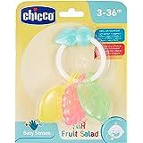 Chicco Gioco Air Friut Salad, Trillino Massaggiagengive Colorato a Forma di Frutti, 3-36 Mesi