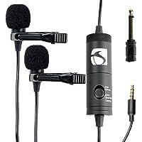 Industry Standard Sound ISSLM200 Lavalier Microphone (Black)