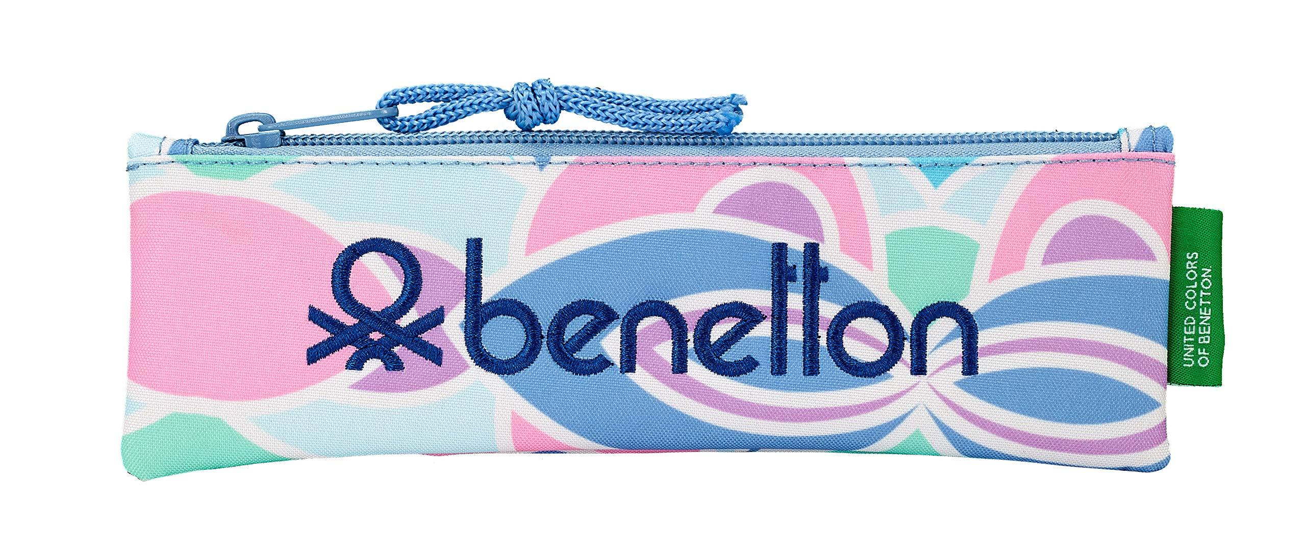 Benetton «Arcobaleno» Oficial Estuche Escolar 200x60mm