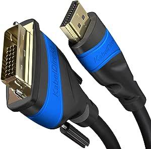 Kabeldirekt Hdmi Dvi Adapterkabel 1 M Elektronik