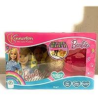 Barbie - Set regalo per la colazione a uovo di Pasqua, ideale come regalo di Pasqua, adatto per vegetariani
