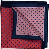 GENTSY ® 100% Seta Fazzoletto da Taschino da Uomo Segato a Mano 32 x 32cm / 12.5 x 12.5 pollici Classico Design