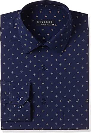 Diverse Men's Regular Formal Shirt